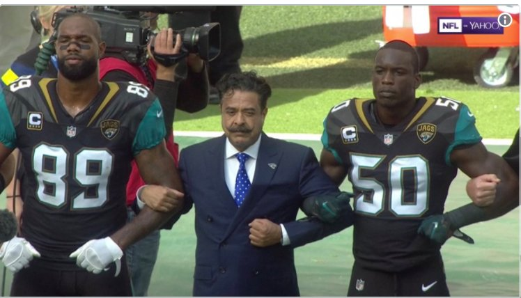 NFL owner who gave $1 million to Trump inaugural joins anthem protest https://t.co/Lem584yXXE