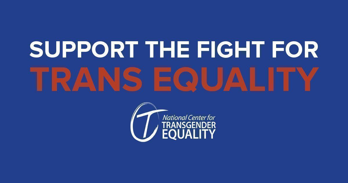 Join the fight for #trans equality! Support NCTE today:  https:// buff.ly/2wM4EWY  &nbsp;   <br>http://pic.twitter.com/hTWJMq26UT