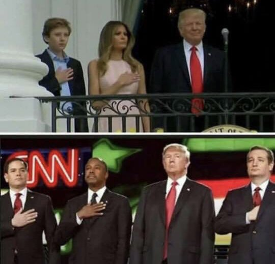 """RT @nycjayjay: Trump: """"When somebody disrespects our flag...get that son-of-a-bitch off!"""" https://t.co/Go8nUh4w8g"""