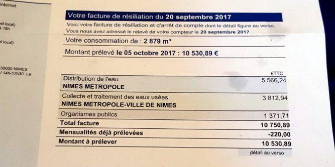 #Insolite : une Nîmoise reçoit une facture d'eau à plus de 10 000 € ! #nimes 🚿https://t.co/IEoN7JwlSJ