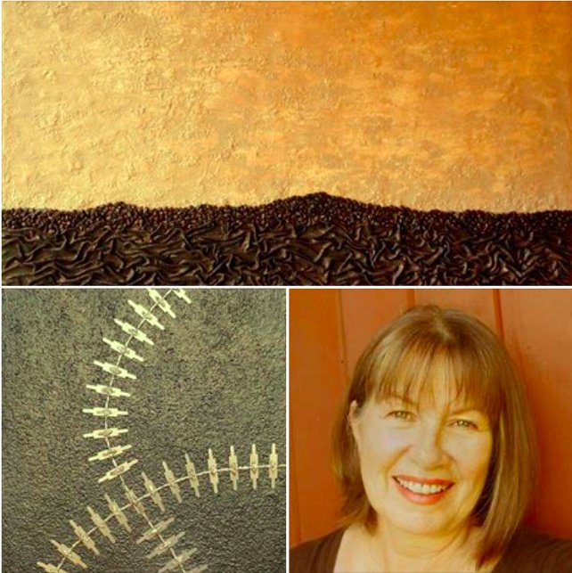 Debra Shelswell&#39;s studio is STOP Q on the #ImagesStudioTour2017! #mixedmediaart #abstractart  http://www. imagesstudiotour.com  &nbsp;  <br>http://pic.twitter.com/x3tLrCA5ug