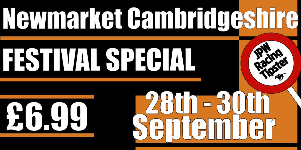 Newmarket Cambridgeshire Festival Special  Get your tips ready👇👇 https...