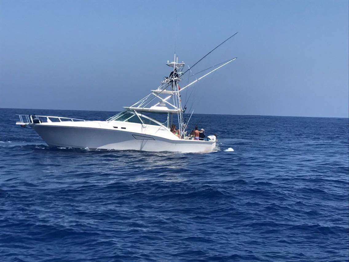 Guadeloupe - Capt. Vincent Herpe and Marocco Solena released 112 White Marlin over 22-Days.