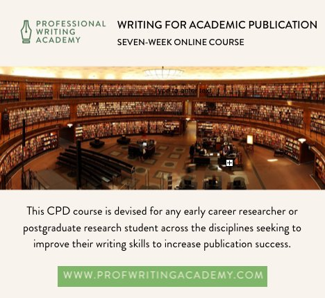 Discover more about Writing for #Academic Publication w/ this intro from course director &amp; academic mentor, Dr Dan:  https:// youtu.be/RShG7yOGU2c  &nbsp;  <br>http://pic.twitter.com/HWZSZYBHJt