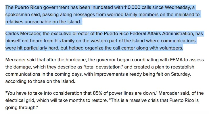 Puerto Rico is in crisis and people still can't connect with their loved ones. https://t.co/2iKc5DNoUD https://t.co/RoDMrtlve2