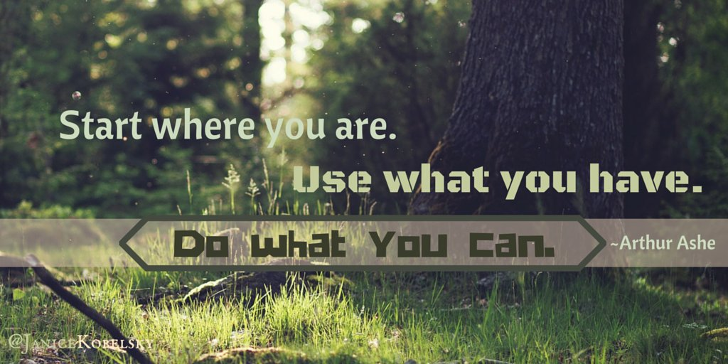 If feeling overwhelmed for any reason, this is a great reminder! Start now. #Attitude #ThinkBIGSundayWithMarsha #Mindset <br>http://pic.twitter.com/PAPOEXJUgc