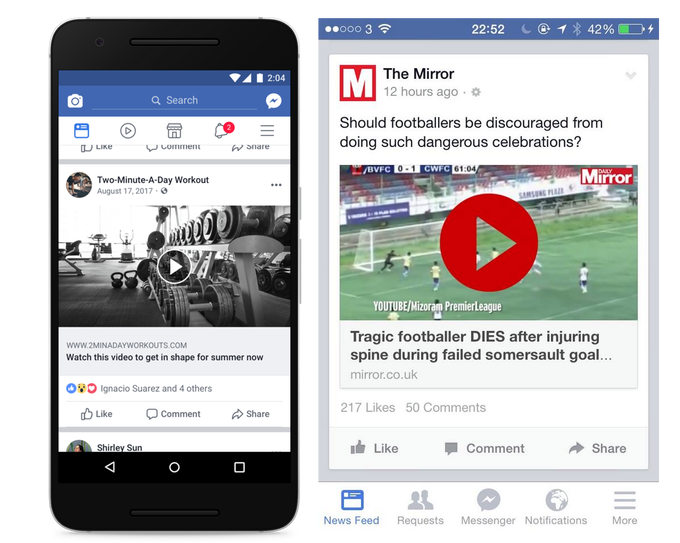 FB cracking down on images that use fake video play buttons to lure clicks  http:// ow.ly/Nnu330fl8A9  &nbsp;   #socialmedia <br>http://pic.twitter.com/tCltF6jcyr