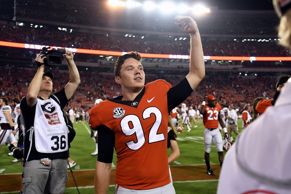 #UGA is ranked No. 2 in the nation in fewest punt return yards allowed (-4). Dawgs were ranked No. 51 last year.   https:// uga.rivals.com/news/by-the-nu mbrs &nbsp; … <br>http://pic.twitter.com/Fm9uGImvQP