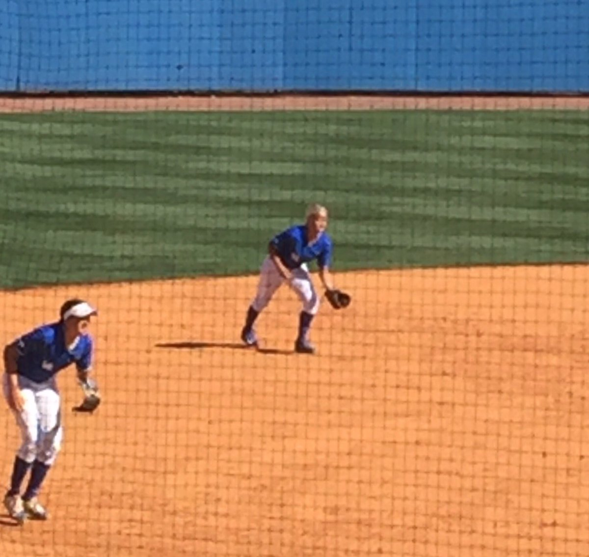 Former DCSB Lauren Johnson making her collegiate debut #Go Cats <br>http://pic.twitter.com/cReo9WK2LJ