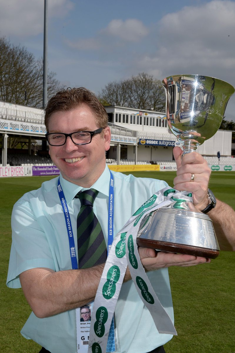 #YellowSports #BrianJeeves will be at the #Cloudfm CG for @EssexCricket @CountyChamp encounter with @YorkshireCCC  #Champions #25YearsOn<br>http://pic.twitter.com/7QpM3UXL6G