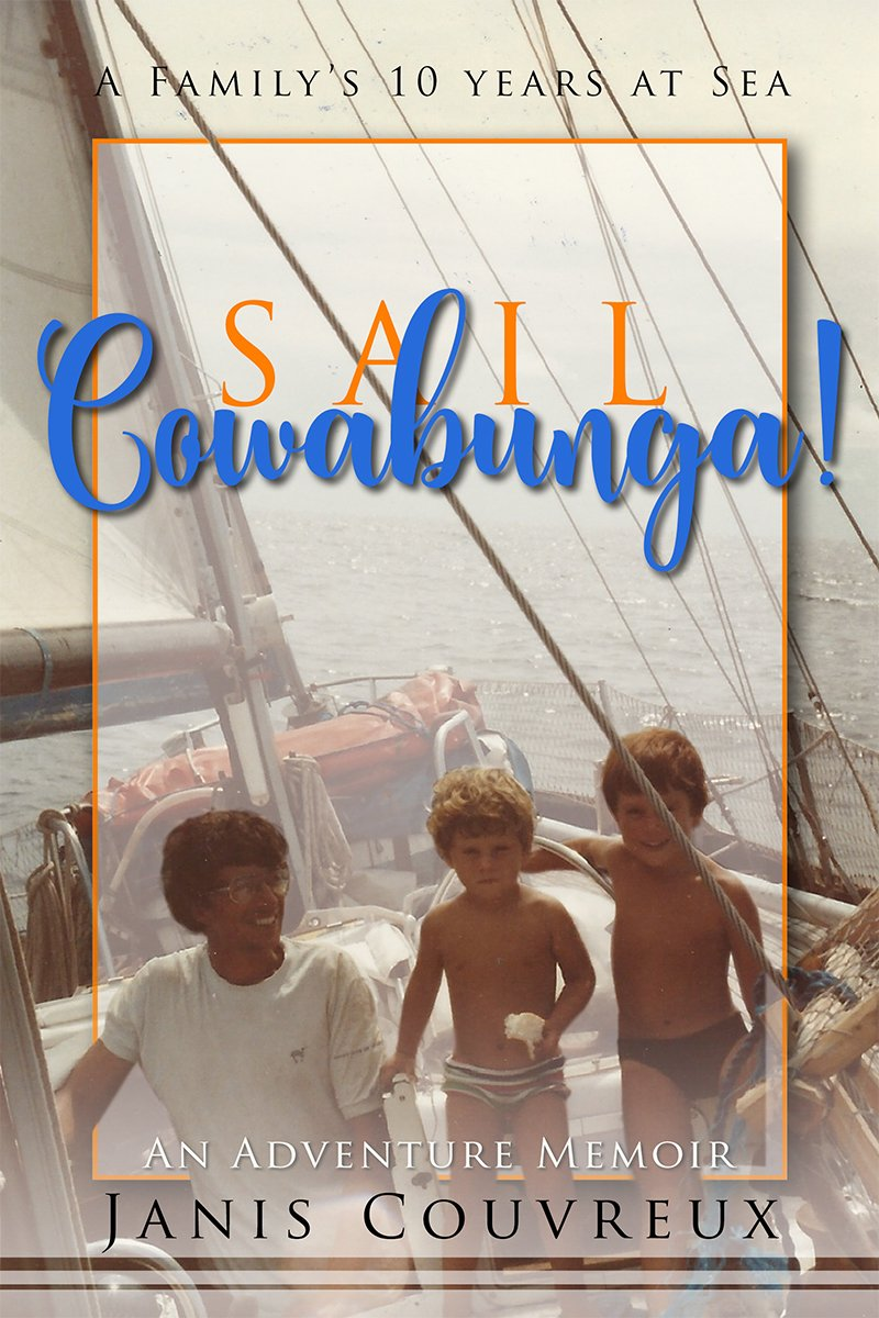 &quot;Try raising well-adjusted boys and keeping a marriage nicely afloat...on a boat.&quot;  http:// ow.ly/Z7Wy30fo3sa  &nbsp;    #sailcowabunga #publishing #sea<br>http://pic.twitter.com/Fdn4M6wghJ