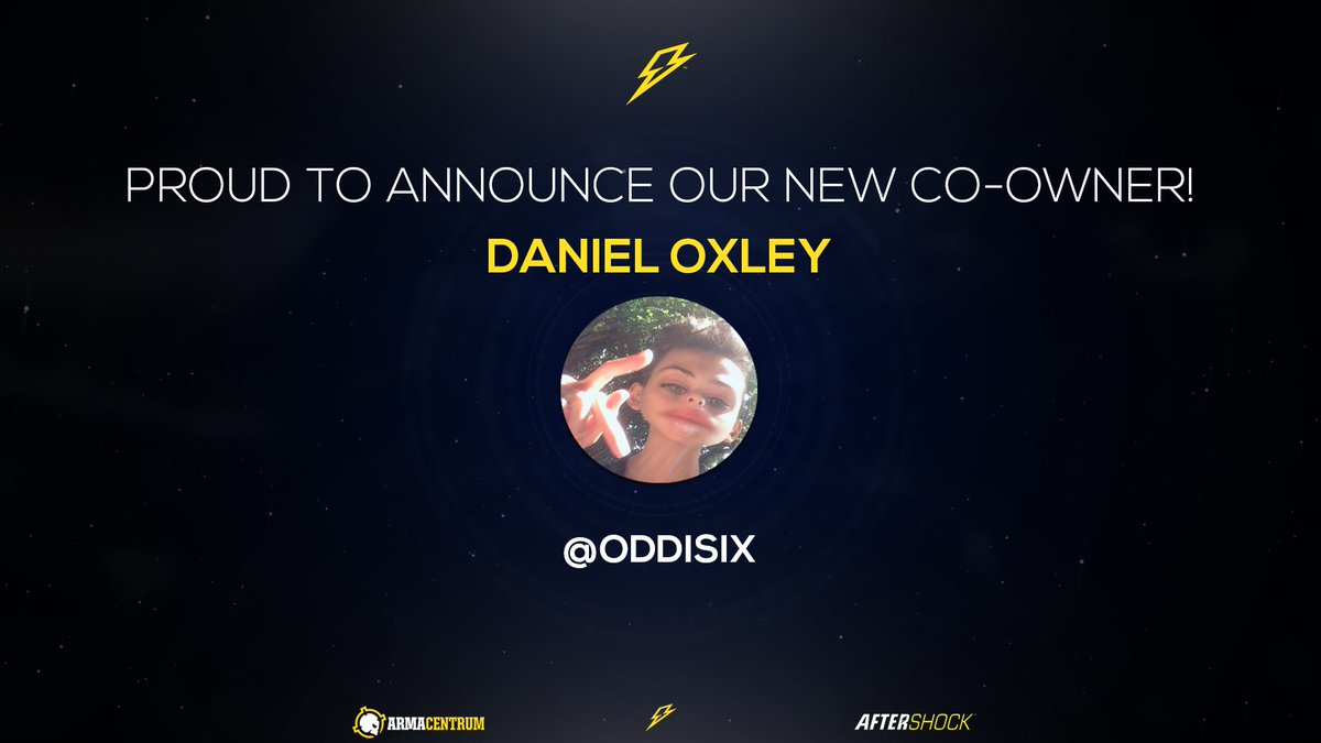 [#Announcement]  Give a warm welcome to our latest Co-Owner   Go drop him a follow  - @oddisix   #aS<br>http://pic.twitter.com/RcCWI38ojv