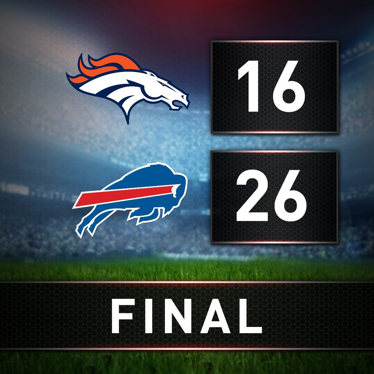 The #Bills are back in first place 👀 https://t.co/A1lTkMKZdp