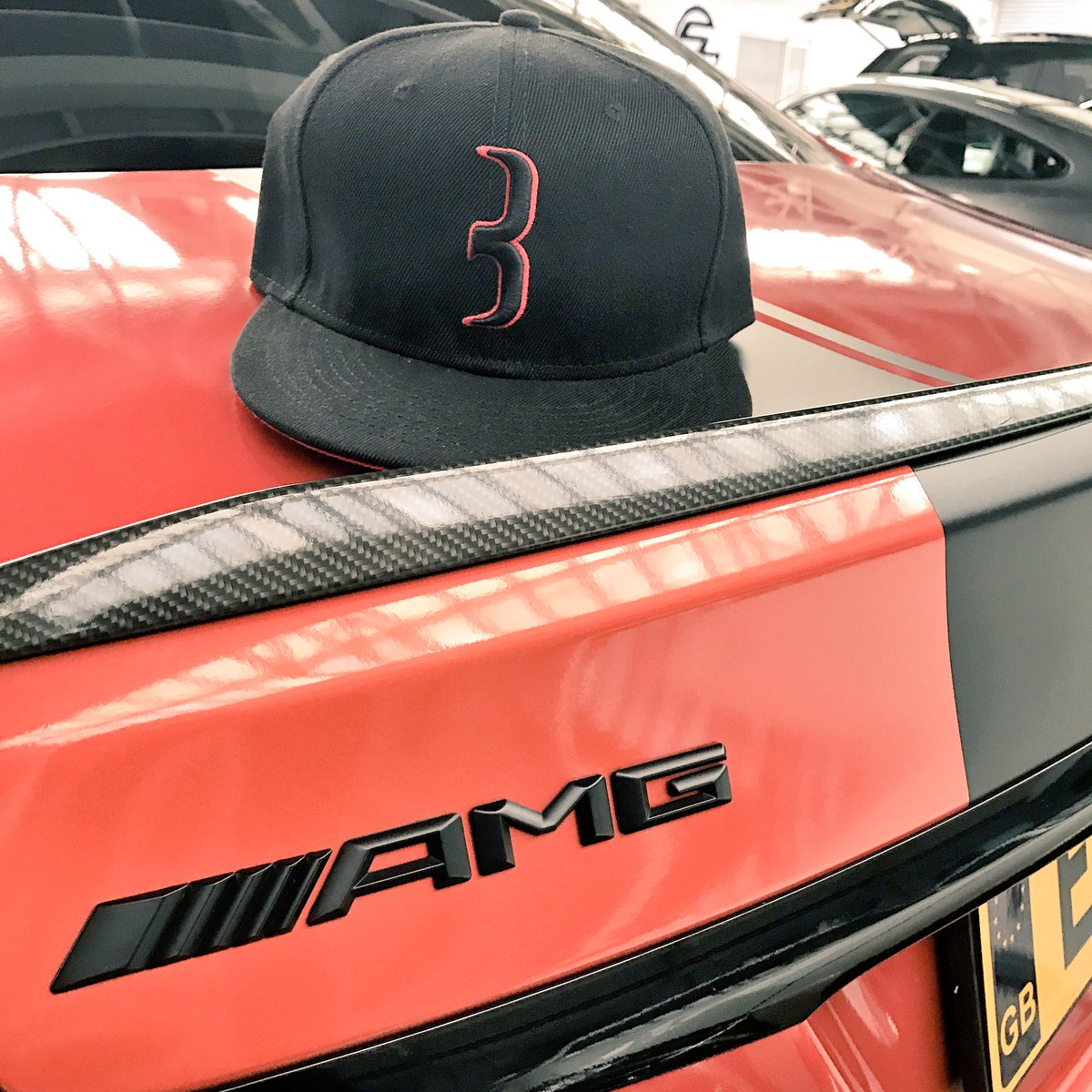 The new red and black baulla on the Merc AMG   Online at    http:// baulla.com  &nbsp;    #sunday #mercedes #amg #snapback #swag #fashion<br>http://pic.twitter.com/jvPTqLgBjY