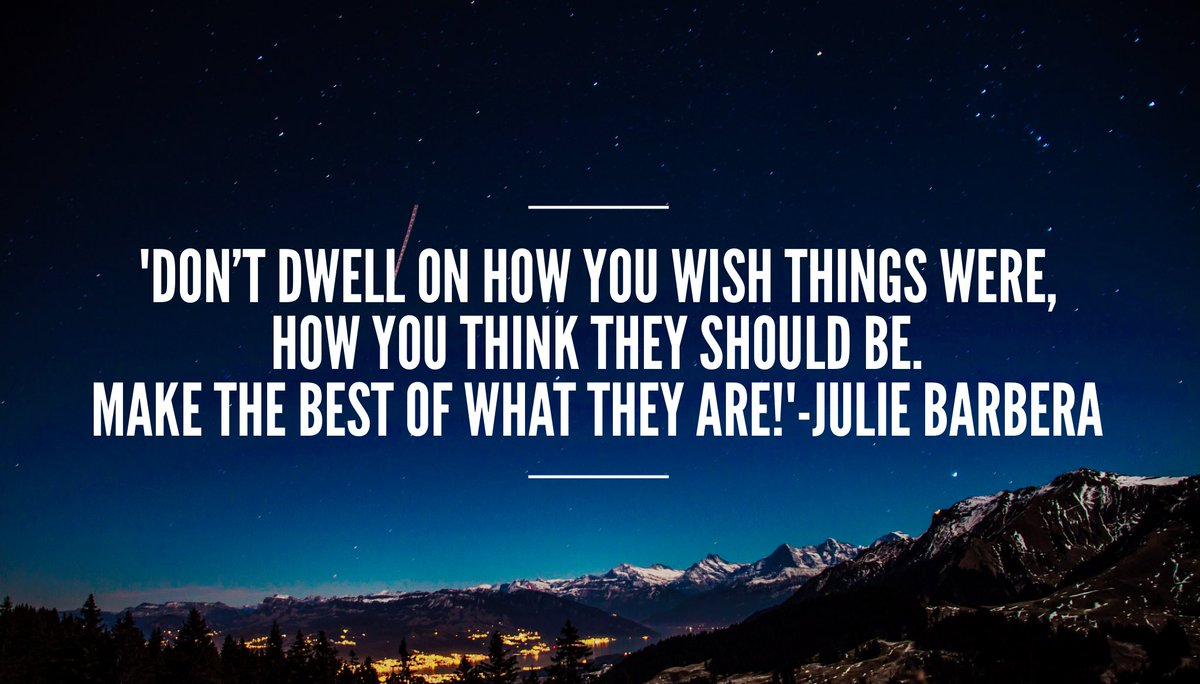 &#39;Don&#39;t dwell on how you wish things were. #Start where you are today. Make the best of what they are!&#39; #ThinkBIGSundayWithMarsha #Mindset <br>http://pic.twitter.com/JIbjcsG5eF