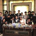 鎌苅健太くんの結婚パーティーに行ってきました☺️大好きな健太くんの幸せそうな笑顔を見れて嬉しかった☺…