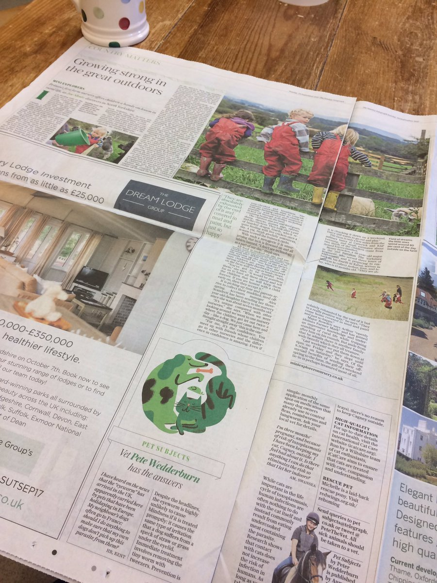 Proud moment for @littlewritinguk to see #MiniExplorers featured in The Telegraph today. First ever client in our #MarketingMentor scheme. <br>http://pic.twitter.com/uCAASWhjBN