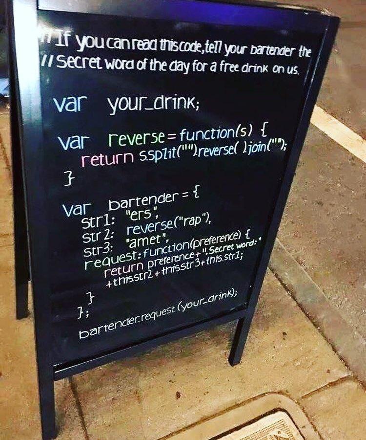 U have to say the magical word !!!!  #Programming #Programmers #program #code #coding #coder #javascript #java #python #c<br>http://pic.twitter.com/sKjK6EIMKl