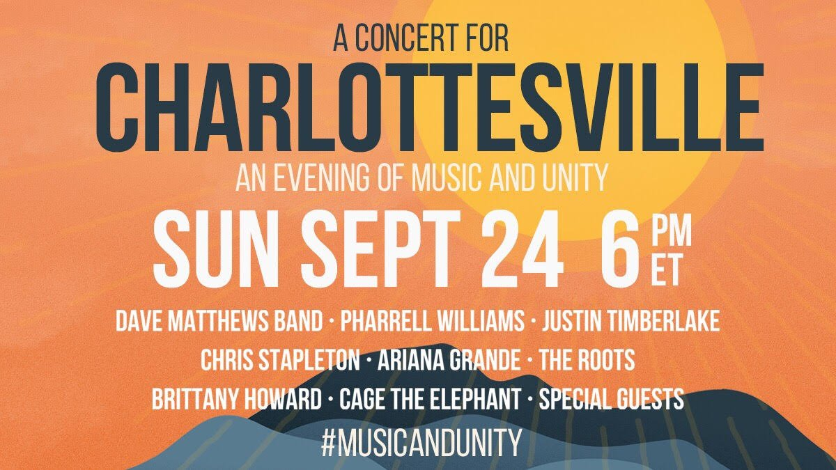 We're so excited to bring you the #Concert4Cville stream later. Here's...