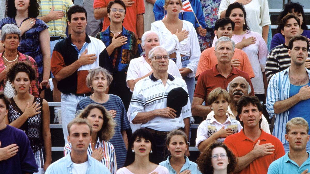 Study: Majority Of Americans Fantasize About Other Countries During National Anthem https://t.co/mzfVwFGnOK https://t.co/EtejkyIbNS