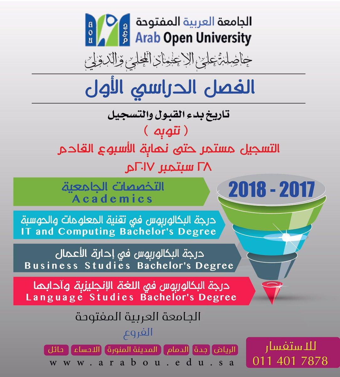 الجامعة العربية المفتوحة الدمام