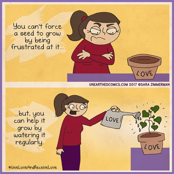 Great illustration! #GiveLoveAndReceiveLove #comic <br>http://pic.twitter.com/8pIYO7NbDR