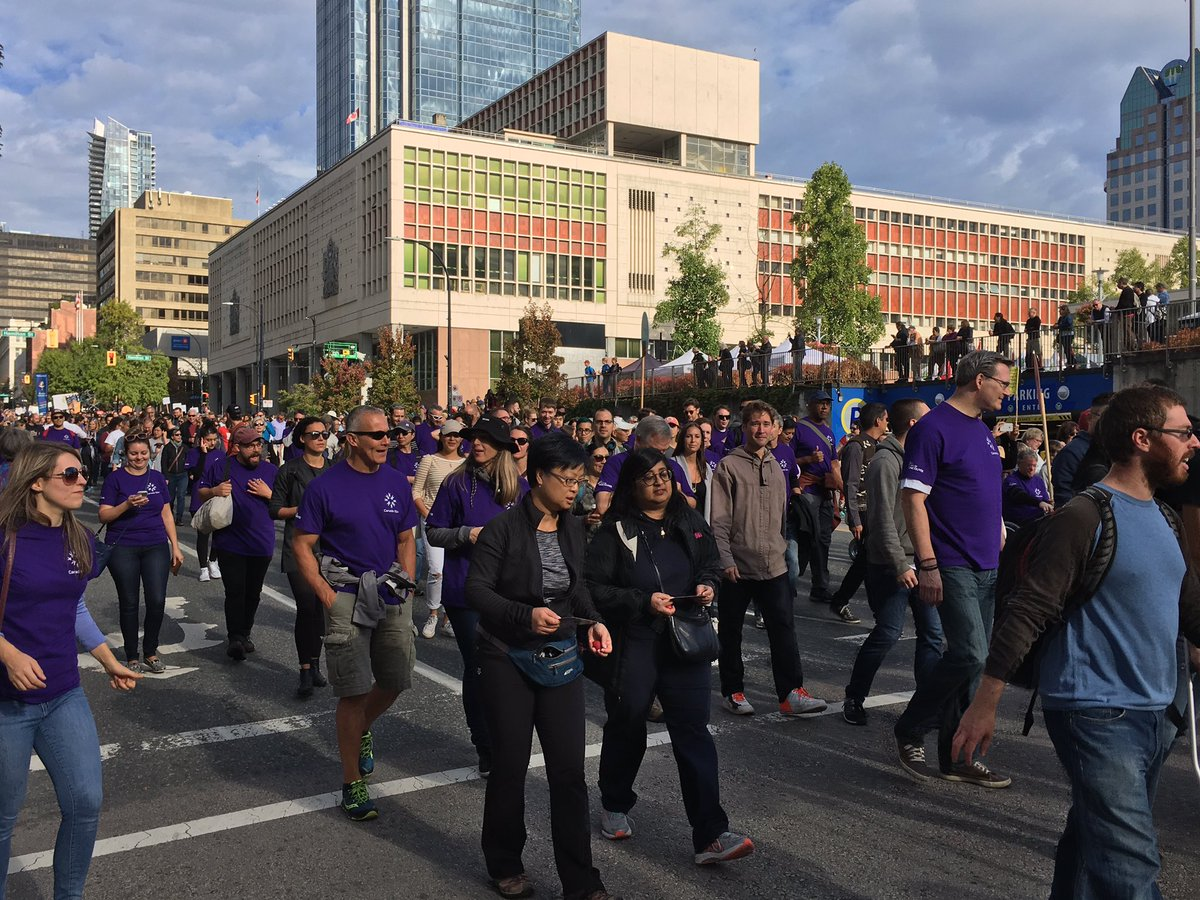 WOW! Thousands turn out for #walkforreconciliation in Vancouver https:...