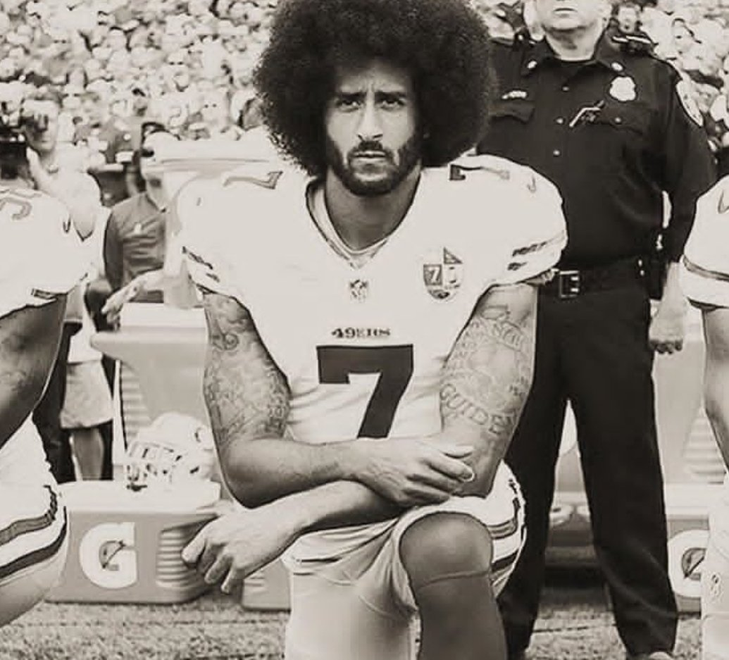 #TakeTheKnee #SundayMorning #kapernick #Justice #protest  Trump just made his calls even stronger<br>http://pic.twitter.com/Cc0dkSPbQD