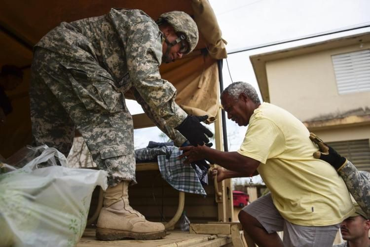 Aid begins to flow into Puerto Rico in wake of disastrous #HurricaneMaria https://t.co/11BlLxMDfR https://t.co/YsbhPaEwtG