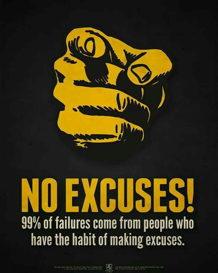 No excuses!   #Entrepreneur #success #makeyourownlane #defstar5 #startup #Mpgvip #Wisdom #Motivation #Quotes<br>http://pic.twitter.com/POTNXJBuGg