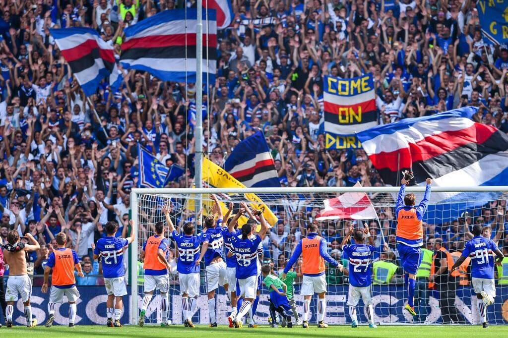Grande #Sampdoria ! #SampdoriaMilan<br>http://pic.twitter.com/PufW5WNt68