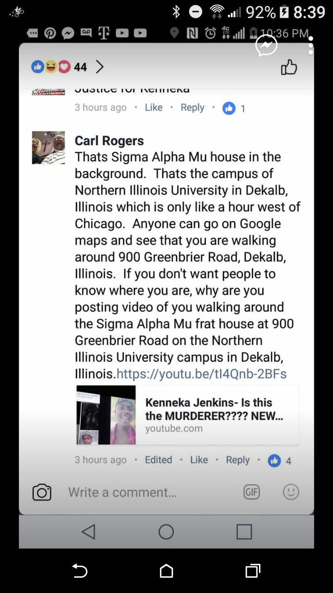 Idk y y&#39;all think u can RUN or HIDE #JusticeForKenneka @livelifefreed #KennekaJenkins #NoJusticeNoPeace #RetweeetPlease <br>http://pic.twitter.com/CEVTcvFG2x