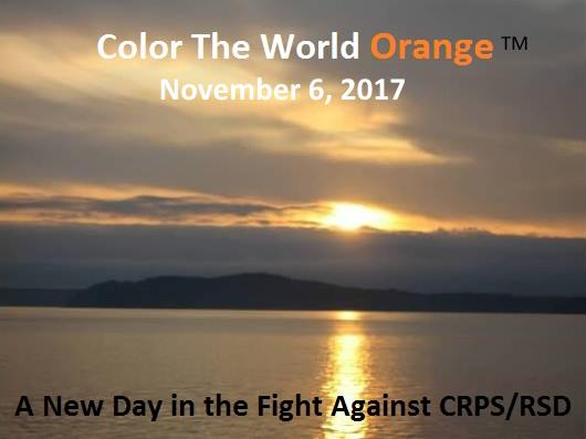 #DYK the 1st Monday in November is #CRPSAwareness day Contact your Mayor, councillor or #shopping centre &amp; ask for support #CRPSOrangeDay<br>http://pic.twitter.com/0tTjyxbjdx