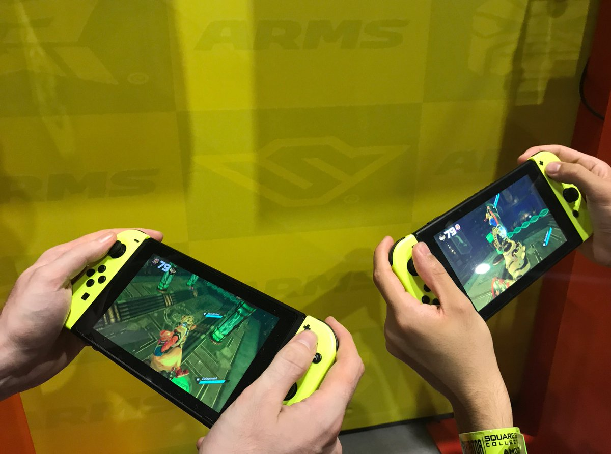 That&#39;s a wrap for #EGX 2017! Always time for one last game of #ARMS, though… <br>http://pic.twitter.com/PiiiA6CZuO