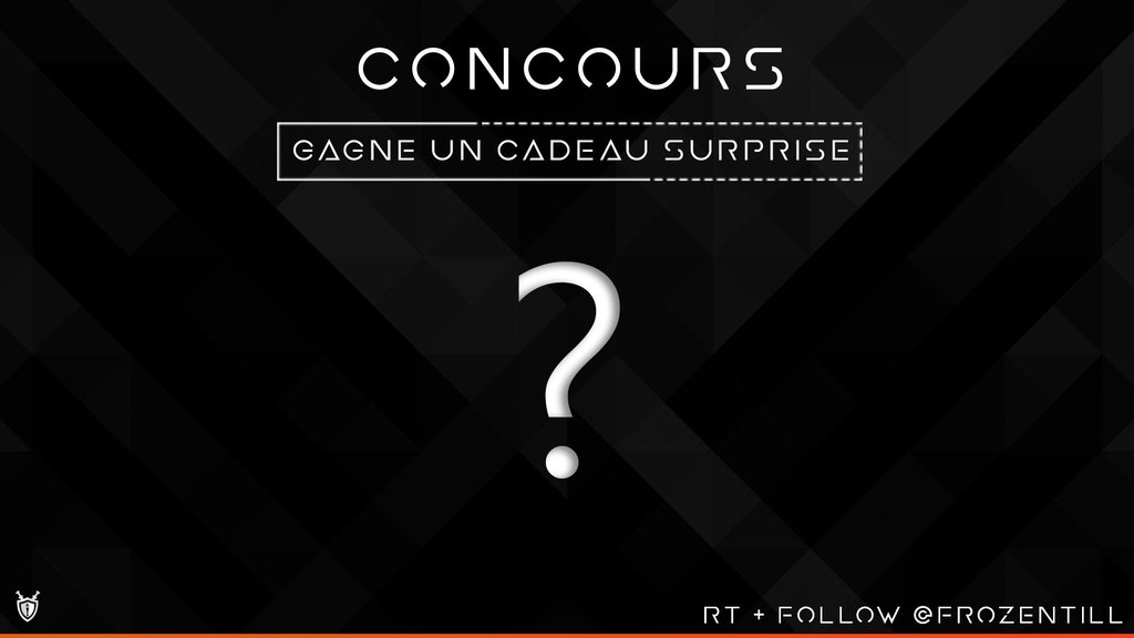 #CONCOURS   #GIVEAWAY  Win 2 Random Gift !    #RT + #FOLLOW ME + @AzogConcours + @box_concours    Tirage   Draw  100 #RT <br>http://pic.twitter.com/ytgsKpUub2