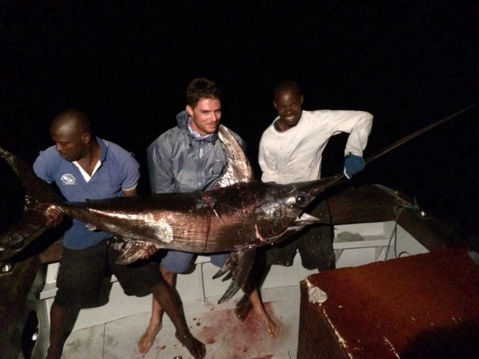 Malindi, Kenya - Soolyman Sportfishing went 6-8 on Swordfish.