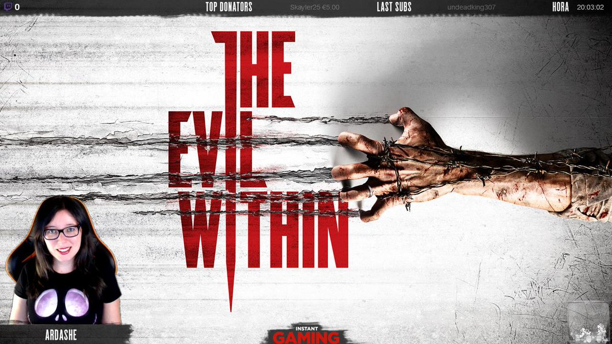 http:// twitch.tv/ardashe  &nbsp;    The Evil Within #streamer #twitch #directo #ardashe #terror #theevilwithin #videogames #stream #streaming<br>http://pic.twitter.com/wd3QeBujnD