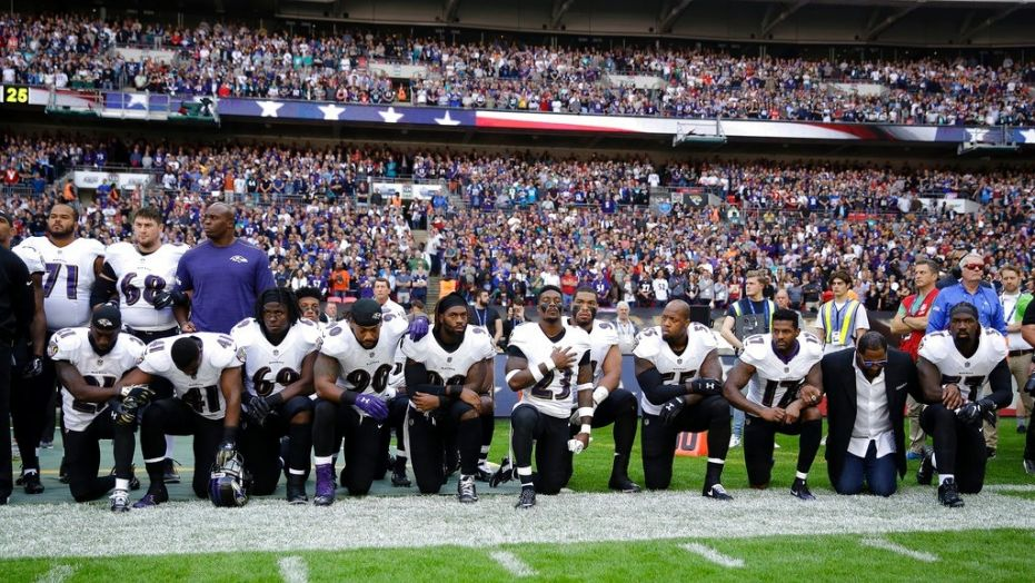 Steelers stay in the locker room during national anthem as 100 NFL players protest https://t.co/ghZhyPStow #FoxNews https://t.co/K7g9Ff2gPf