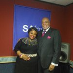 @curtisgospel in studio with @Khanyi_Magubane. Tune into to @SAfmRadio to listen to the interview.