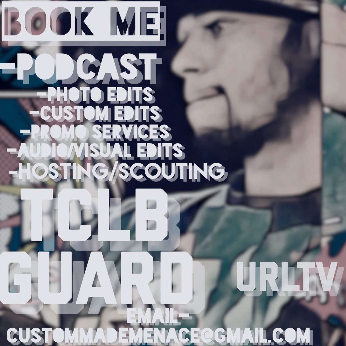BOOK ME,consistent work behind ya brand.My Rep speaks for itself #MostReliable #IfIAintWorkinImWorkin #TCBL #URL #TRL #GUARD #StayCustomMade<br>http://pic.twitter.com/EregWUJADp