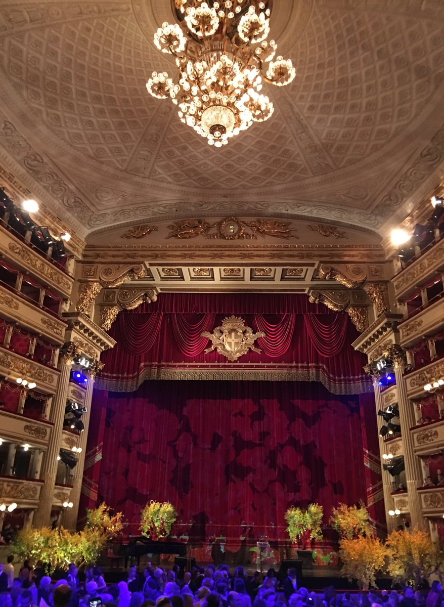 La Scala is a beauty #gcfaitalia