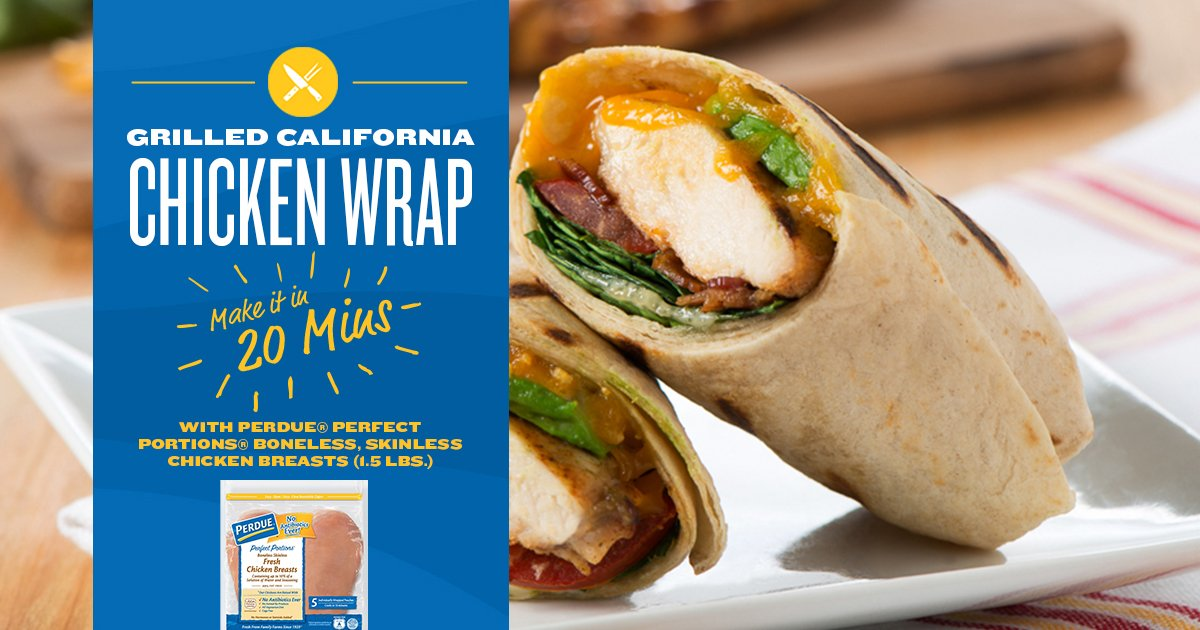 Find yourself eating lunch on the go often? @PerdueChicken has a wrap for that! #Promotion #PerdueCrew -  http:// sot.ag/6L6PK  &nbsp;  <br>http://pic.twitter.com/yVbtVtO8cD