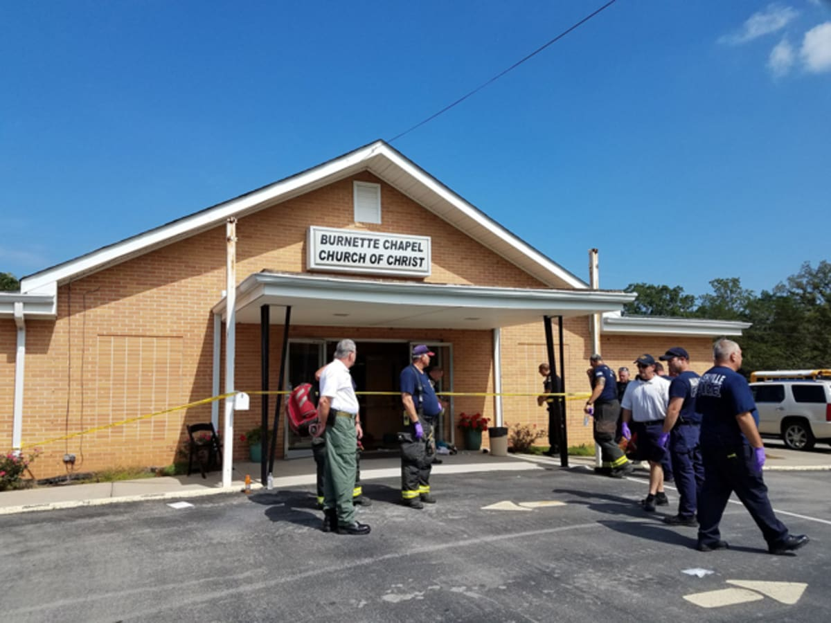 One dead and seven injured during shooting at Tennessee church. https:...