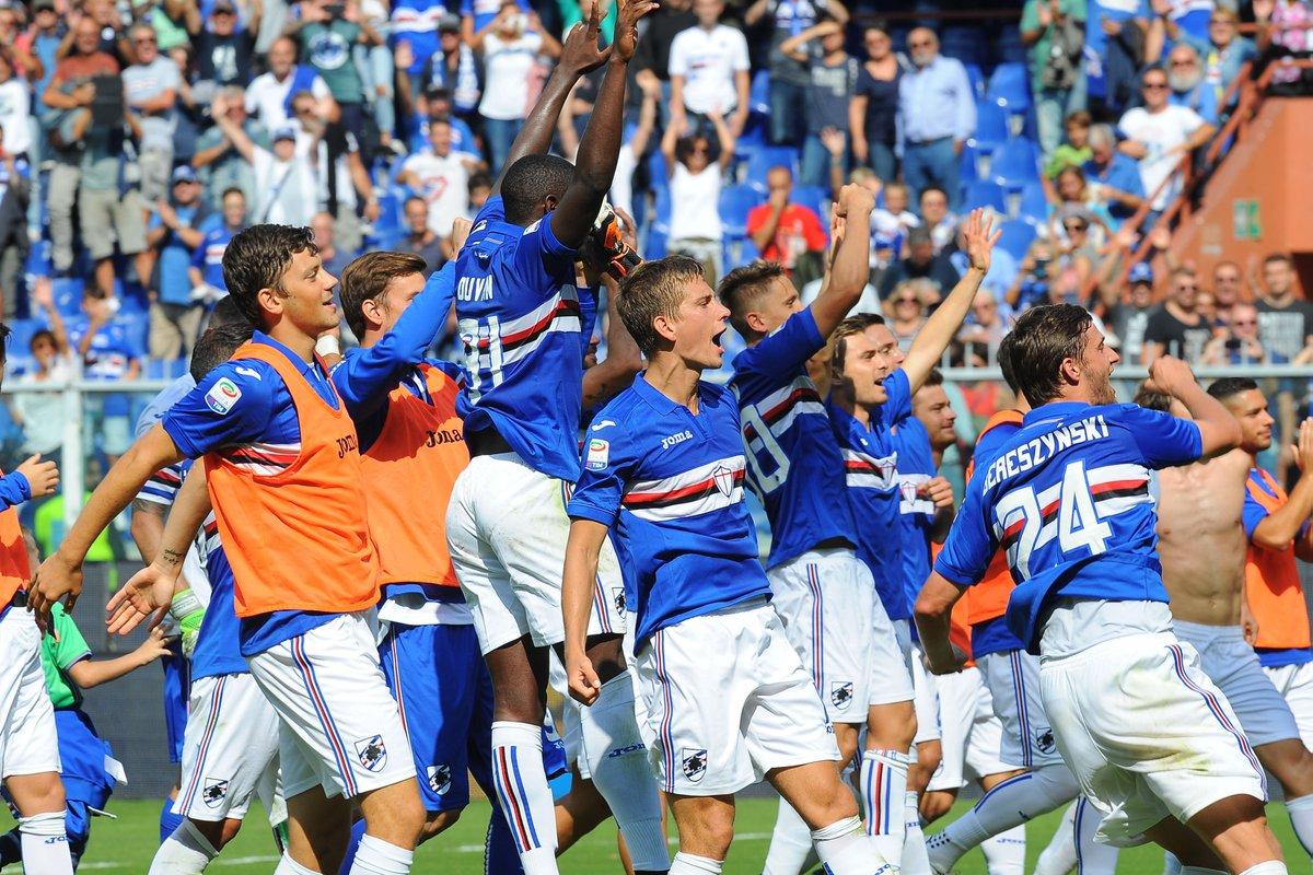 A poor #ACMilan side slump to a 2-0 loss at #Sampdoria, where Duvan #Zapata and Ricky #Alvarez scored for the home side #SampMilan #SerieA<br>http://pic.twitter.com/HusNjmEUwC