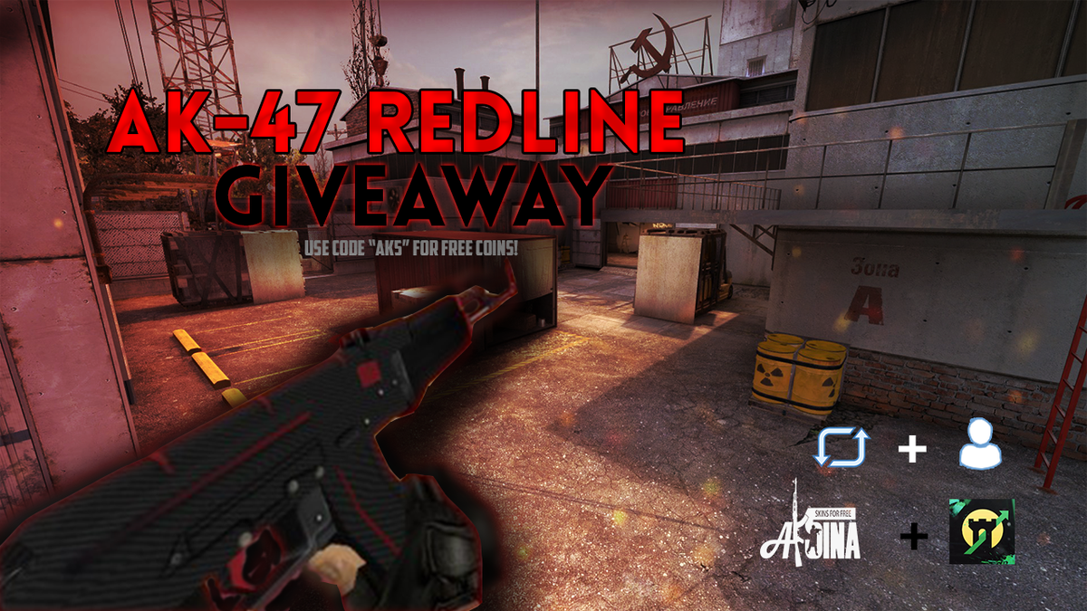 #Giveaway Ak - Redline FT 24 hours  http:// gamdom.com/?ref=ak5  &nbsp;     Follow @ak5ina, @GamdomOfficial Retweet tag 2 &amp; comment trade link<br>http://pic.twitter.com/Ni4iEWzd0y