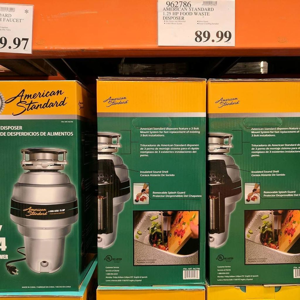 Costco Garbage Disposal >> Olli On Twitter Garbage Disposal Broke Replacing It With