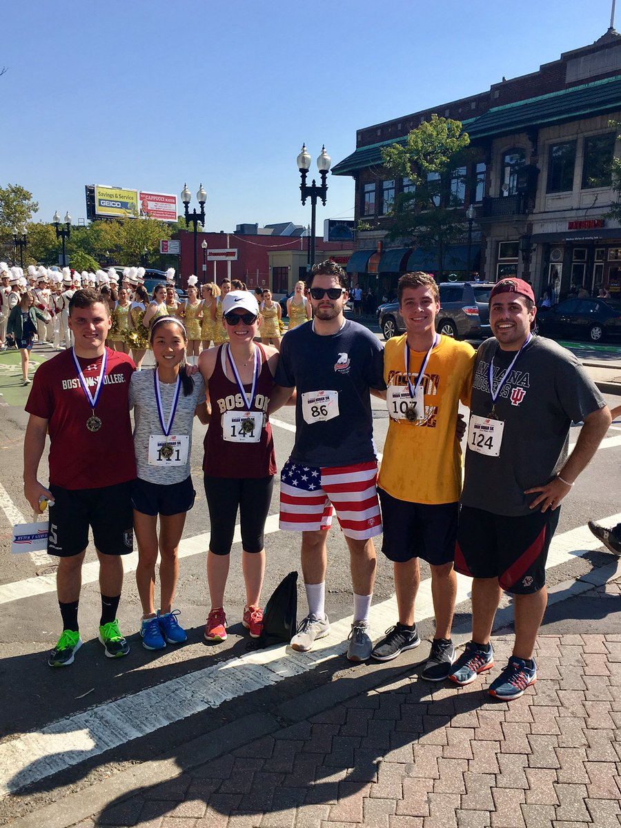 Great morning for the @Brian_Honan5k with this crew! Gotta get back on track and keep grinding along. #NeverGiveUp #BelieveInYourself #AMDG<br>http://pic.twitter.com/ofXG5vY8f4