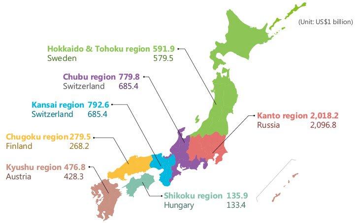Regions of Japan compared to countries of similar GDP  http://www. vividmaps.com/2017/09/region s-of-japan-compared-to-countries.html?utm_source=dlvr.it&amp;utm_medium=twitter &nbsp; …  #Economics #Japan<br>http://pic.twitter.com/HreT6o4pFx