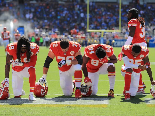 List: NFL players who protested on Sunday https://t.co/PSelyZuVh0