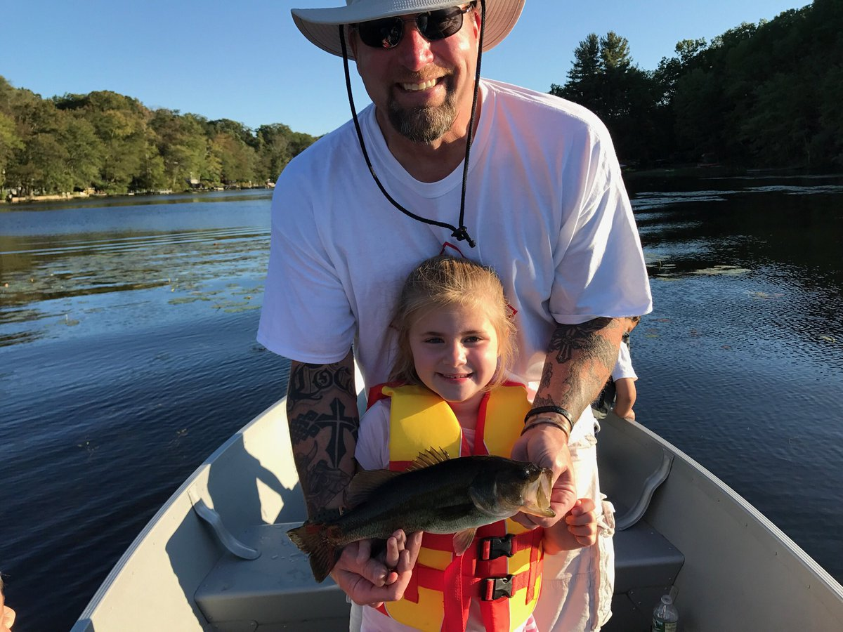 Every day is #nationaldaughterday at the Dibble house! LOVE our little girl beautiful on the inside & out!  1st@Jonnadibble catch yesterday!